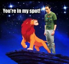 Sheldon pun