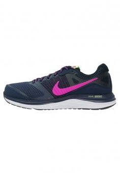 more photos 38291 a0c54 Nike Performance - DUAL FUSION X - Chaussures de running avec amorti - mid  navy