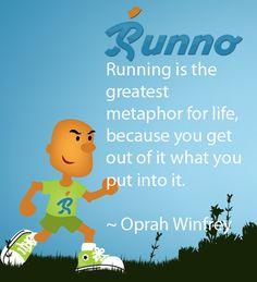 Words of motivation by Oprah.    Enjoy!