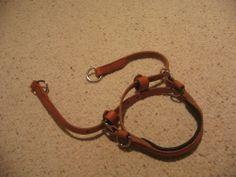 Bitless bridle converter sidepull Hermann Oak harness leather hackamore Horse