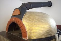 Wood Oven, Wood Fired Oven, Wood Fired Pizza, Barbecue Four A Pizza, Barbecue Area, Outdoor Stove, Pizza Oven Outdoor, Patio Blocks, Outdoor Cooking Area