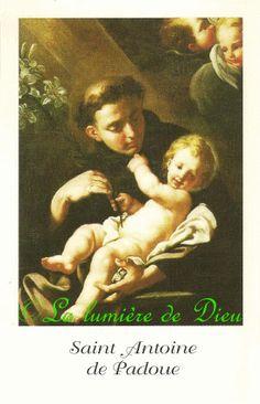 Prière à Saint Antoine de Padoue (Couvent St Antoine, Bastia) - La lumière de Dieu Patron Saints, Madonna, Religion, Movie Posters, People, Saints, San Antonio, Saint Anthony Of Padua, Projects