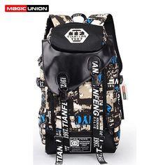 $45.98 (Buy here: https://alitems.com/g/1e8d114494ebda23ff8b16525dc3e8/?i=5&ulp=https%3A%2F%2Fwww.aliexpress.com%2Fitem%2FNew-2015-Men-And-Women-Backpacks-Design-Unisex-Bags-Men-s-Travel-Bag-Fashion-Man-Backpack%2F32479605703.html ) MAGIC UNION Men and Women Backpacks Design Unisex Bags Men's Travel Bag Man Backpack Polyester Bag Print School Backpacks for just $45.98