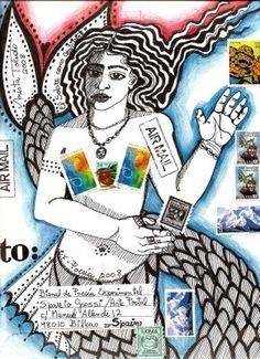 Art envelope, Mitra Toledo