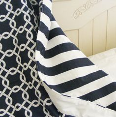 Nautical Reversible  tODDLER Bedding -Blanket- Quilt Many Choices Nautical by ThePincushionStore on Etsy https://www.etsy.com/listing/160437663/nautical-reversible-toddler-bedding