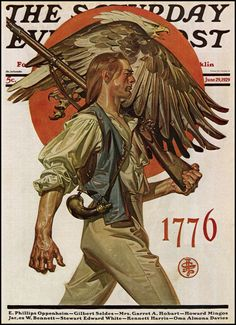 1776 ... March like a Man!  Unless you aren't.  Then I guess you've got no choice but to march like whatever that is.