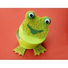 Frosch basteln aus Papier   Basteltipps & Tricks gibt es bei uns!