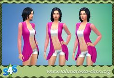 Summer Cardigan at LaLunaRossa • Sims 4 Updates