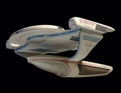 The Oberth Class filming model used as U.S.S. Grissom in 1984's ST III: The Search For Spock, as well as others on TNG.