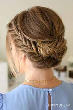 Updo Hairstyle With Braids Pictures great updos for medium length hair Updo Hairstyle With Braids. Here is Updo Hairstyle With Braids Pictures for you. Updo Hairstyle With Braids fishtail braided updo hairstyleto. Updos For Medium Length Hair, Up Dos For Medium Hair, Braids For Long Hair, Medium Hair Styles, Curly Hair Styles, Braided Hairstyles Updo, Chignon Hair, Summer Hairstyles, Braided Updo