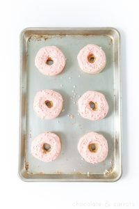 15 Minute Valentine's Day Donuts