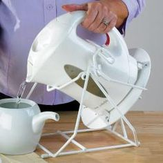 Cordless Kettle Tipper MMLA77106 Looks interesting, but I haven't tried it.