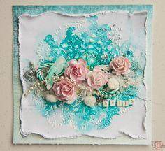 The Art Medium: Shabby Card for 13@rts