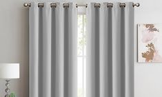 Two-Panel Blockout Curtains Red Highlights, Blackout Curtains, Layers, Colours, Contemporary, Elegant, Design, Home Decor, Stamps