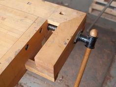 Joel Moskowitz is the owner of Tools for Working wood and he writes about tools – old and new, woodworking history, and various woodworking techniques that are useful to know. He also writes about arc… - Today Pin Woodworking Books, Learn Woodworking, Woodworking Magazine, Woodworking Workbench, Woodworking Techniques, Woodworking Furniture, Woodworking Projects, Homemade Bench, Easy Wood Projects