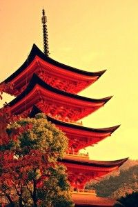 Visit Kyoto to see an ancient Japanese shrine