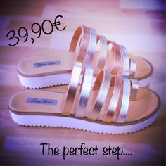 Απόκτησε το τώρα !!!!! www.stepshop.gr Pool Slides, Sandals, Shoes, Fashion, Shoes Sandals, Zapatos, Moda, Shoes Outlet, La Mode
