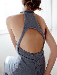 "Kaylene Milner ""Carmen"" Cable Knit Dress in Grey (photo credit: Tim Ashton) Fashion Mode, Moda Fashion, Knit Fashion, Diy Moda, Looks Style, My Style, Moda Crochet, Crochet Lace, Kleidung Design"
