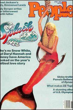 """Splash"" 1984 Starring Daryl Hannah and Tom Hanks, Directed by Ron Howard Daryl Hannah, Fantasy Mermaids, Mermaids And Mermen, Pamela Bellwood, Splash Movie, Jackson Lewis, Chica Fantasy, Mermaid Pictures, Movie Shots"