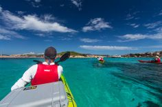 Kayaking Sardinia Maddalena Archipelago  Maddalena Archipelago, a national park and UNESCO World Heritage Site