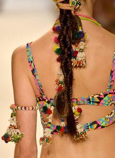 ♥ #BOHEMIAN ☮ #GYPSY ☮ #HIPPIE | Mara Hoffman Swimwear 2014