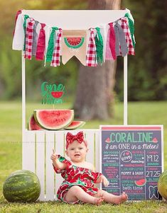 and dislikes list One In A Melon Watermelon Birthday Chalkboard Sign- Printable Birthday Chalkboard Poster- Birthday Board- Custom Sign- Colorful- Red- Green Watermelon Birthday Parties, 1st Birthday Party For Girls, First Birthday Pictures, Girl Birthday Themes, Birthday Board, Birthday Month, One In A Melon, Birthday Chalkboard, First Birthdays