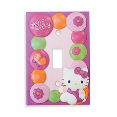 Buy Lambs & Ivy® Hello Kitty Garden Switch Plate Cover from Bed Bath & Beyond