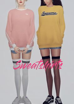 Sims 4 CC's - The Best: KK Sweatshirts by KK's Sims4