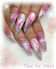Nails Mobile Airbrush Pink Love Pretty
