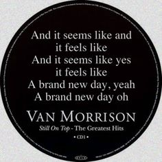 PRESS PLAY ▶ Van Morrison Lyrics