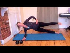 PWH Video- Advanced Side Legs. Variation of traditional Pilates Side Leg Series in a Side Plank Position.