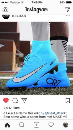 IN ❤️️ WITH THESE CLEATS