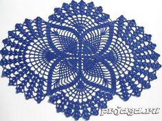 Hoje tem Flor !!!: Centro de Mesa Azul com Gráfico