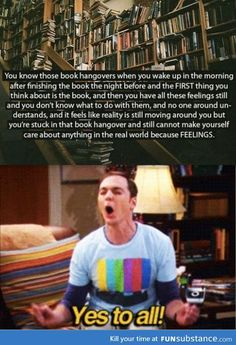 this happens to me so often with amazing books. It's horrible and incredible at the same time<< finally someone knows the 'book hangover' feeling XD I Love Books, Good Books, Books To Read, My Books, Amazing Books, Book Memes, Book Quotes, Book Of Life, The Book