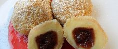 Tvarohové knedlíky s povidly Baked Goods, Cheesecake, Muffin, Baking, Breakfast, Pastries, Angel, Food, Morning Coffee