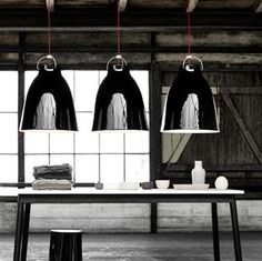 Beautiful lighting from Cecelie Manz - Caravaggio lamp
