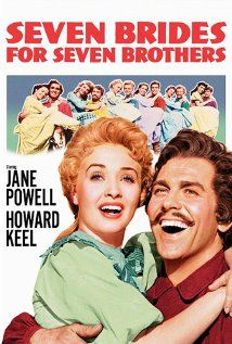 Seven Brides for Seven Brothers (1954)-Life in the 1850's, musicals and American frontier life.