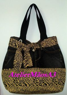 Jean Purses, Jean Crafts, Recycled Denim, Patchwork Bags, Slipper Boots, Cute Purses, Sewing Toys, Gift Bags, Tote Bag