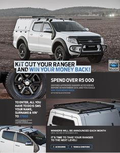 Ford South Africa - Ford Ranger Accessories Ford Ranger Raptor, Truck Accessories, Pickup Trucks, Rally, Offroad, South Africa, 4x4, Boats, Military