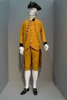 Spainish Suit, 1785 - American Tricorne Hat, 1780 - Fashioning Fashion - LACMA by Marshall Astor - Food Fetishist, via Flickr