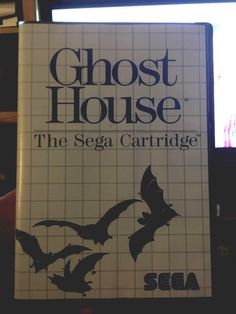 ghost house #sega master system 1986 case and art no game!!! from $3.0