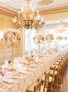 2016 Vintage Glam Reception Decorations