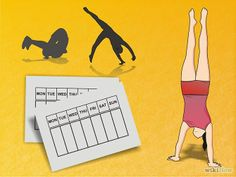 How to Learn Gymnastics at Home: 6 Steps (with Pictures)