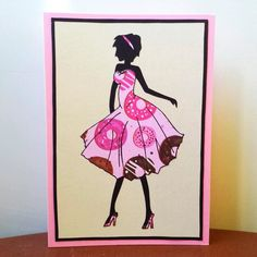 Evie's in a yummy dress #petalsandperfumecards #greetingcards #cards #card #etsy #etsyshop #etsyseller #shoplocal #smallbusiness #handmade #handmadecards #homemade #homemadecards #cardmaking #handicrafts #fashion #fashioninsta #fashionable #style #stylish #vogue #couture #invogue #dress #highheels #trendsetter #pink #doughnuts #etsysbest #thelovelyhandmade by petalsandperfume