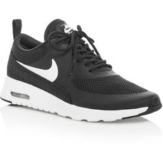 Nike Air Max Thea Joli Lace Up Sneakers (5,470 MKD) ❤ liked on Polyvore featuring shoes, sneakers, lace up sneakers, lacing sneakers, nike footwear, nike trainers and lace up shoes
