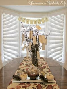 Glamorous, Affordable Life: { Our Thankful Tree }