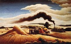 Artist: Thomas Hart Benton  Completion Date: 1939