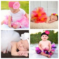 Custom Baby Tutu listing.  Choose your own color and size!
