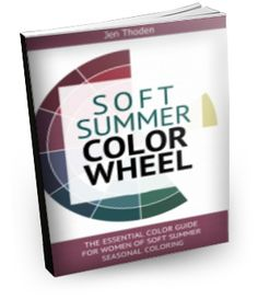 """""""How to Wear Your Soft SummerColors... So That You Look and Feel Beautiful Everyday"""" Watch the video below to learn *exactly* how to use your soft summercolor wheel and style guide to create unique and amazing outfits... while shopping or staring blankly at your closet... Click to learn more..."""