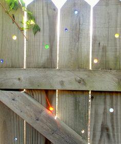 Rolig idé till staketet